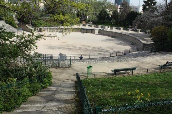 Roman era arena, Lutèce, in Paris