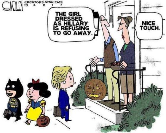 Hillary halloween
