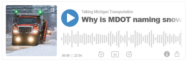 Why MDOT is naming snowplows