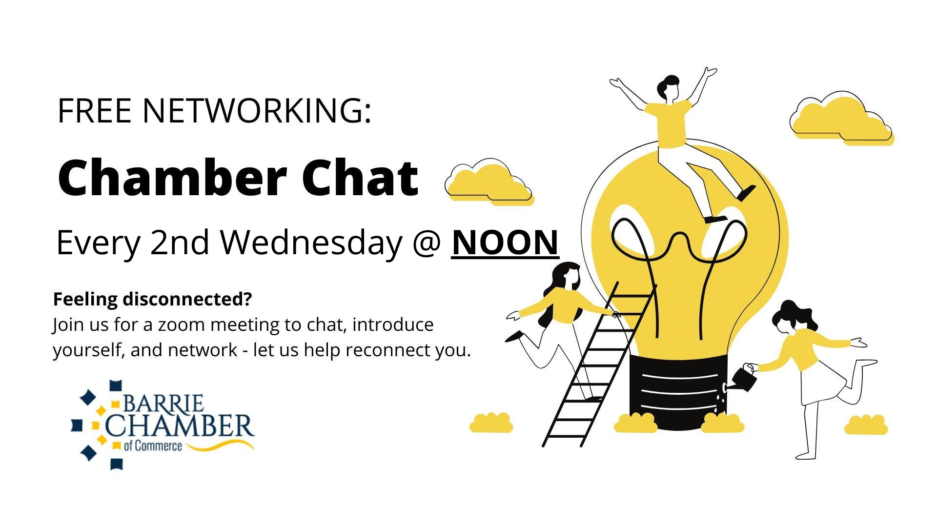 Chamber Chat - Every 2nd Wednesday @ NOON