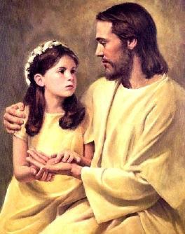 Jezus i dziewczynka