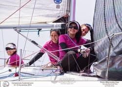 Women J/24 sailors