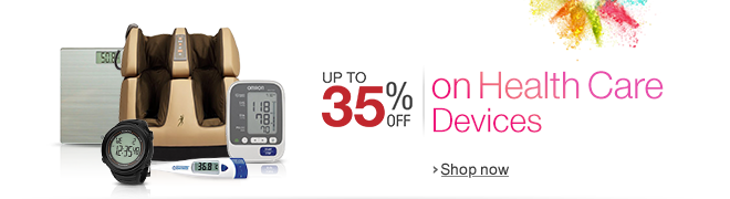 Up to 35% off on Health Care Devices