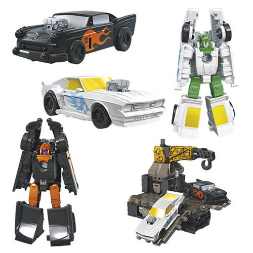 Image of Transformers Generations War for Cybertron Earthrise Micromasters Hot Rod Patrol