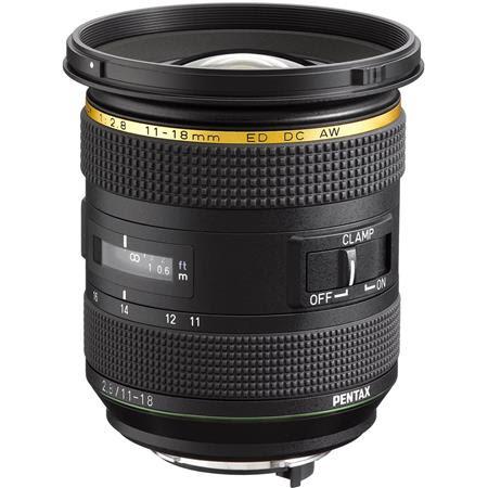 HD PENTAX-DA* 11-18mm F2.8ED DC AW Lens