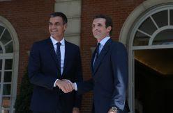 Sánchez cita a Casado un mes después para testar su disponibilidad a grandes acuerdos de Estado