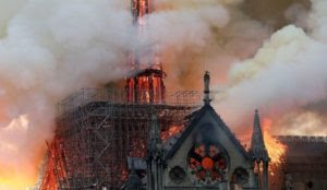 """Allah est grand"": Muslims laugh, celebrate as blaze destroys Notre Dame cathedral during Holy Week"