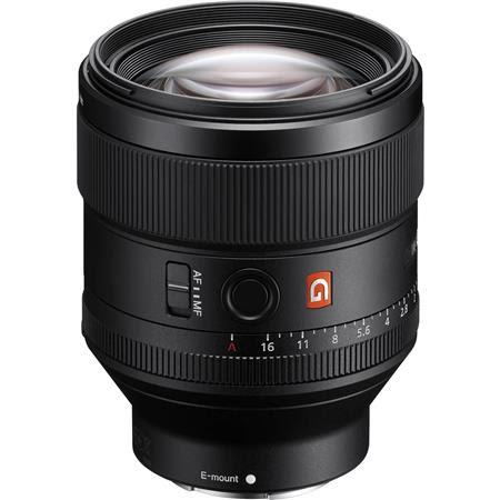 FE 85mm F1.4 GM (G Master) E-Mount Lens