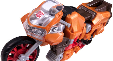 Hasbro Transformers Union level Jazz soldier Engraved version motorcycle