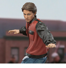 Back to the Future Part II Marty McFly (On Hoverboard) 1/10 Art Scale Limited Edition Statue