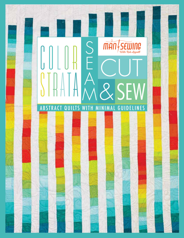 Man Sewing Color Strata Book
