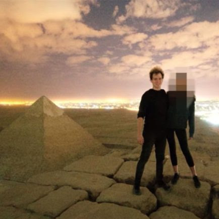 A Danish Photographer Shot Himself Having Sex With a Model Atop Egypt's Great Pyramid. Here's Why He Did It