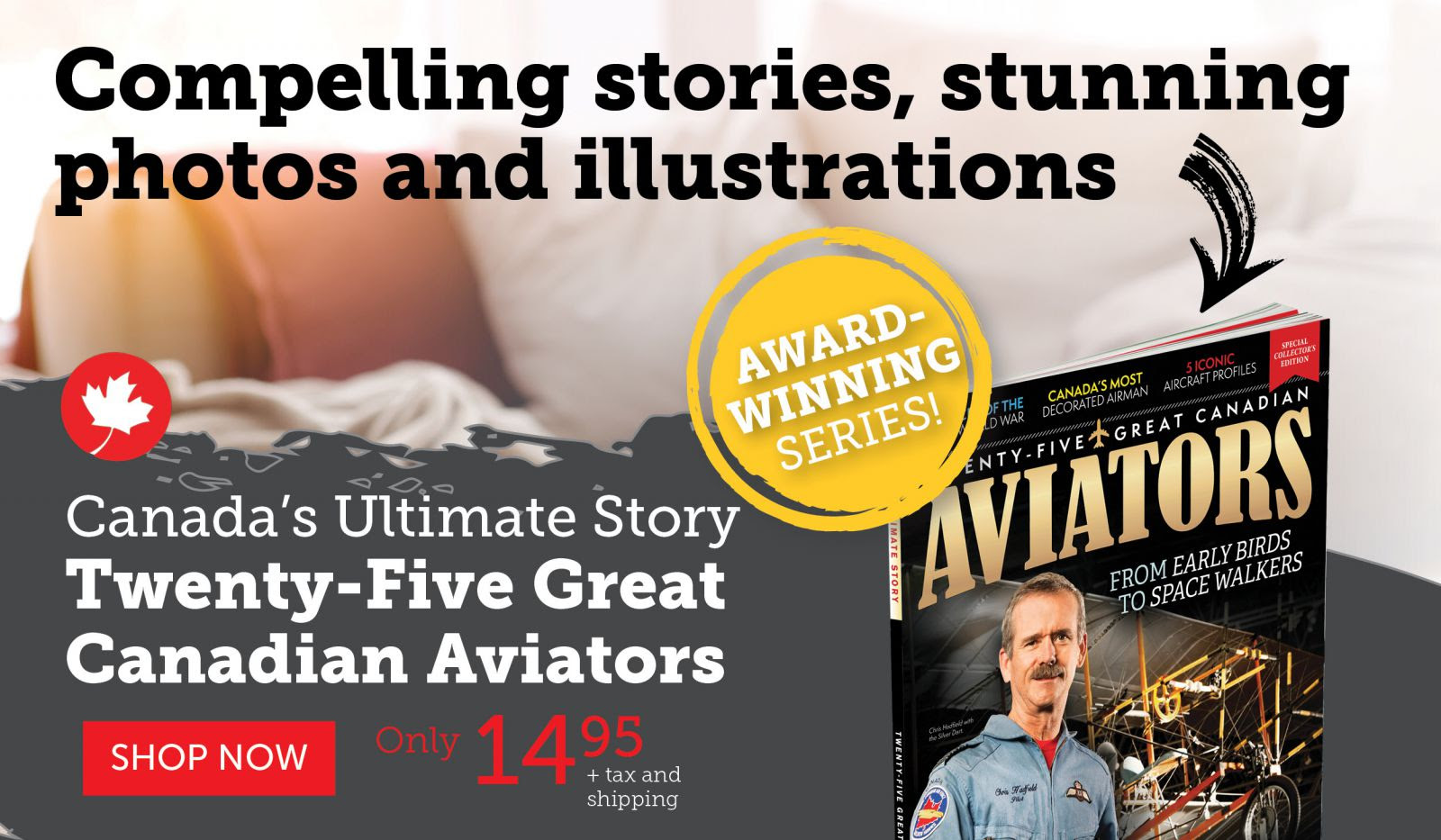 Twenty-Five Great Canadian Aviators!