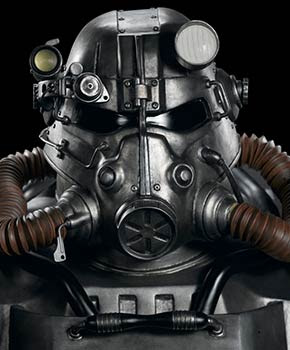 Fallout: T-45 Power Armor Life Size Bust