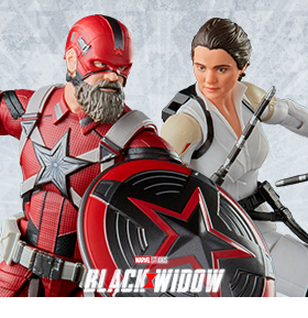 Black Widow Marvel Legends Red Guardian & Melina Two-Pack