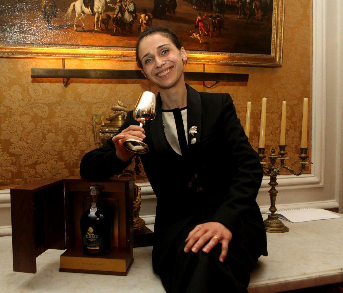 Julia Scavo est la première sommelière à remporter le titre de Master of Port. Photo JB