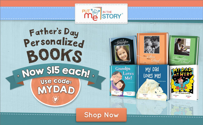 50% Off Personalized Books for...