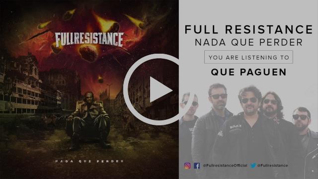 FULLRESISTANCE - NADA                                             QUE PERDER (Album Teaser)