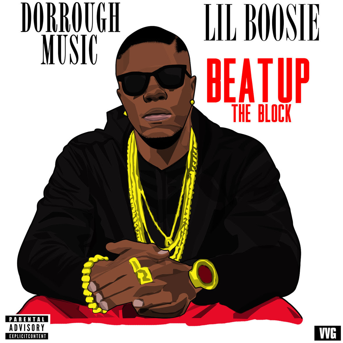 Dorrough Music ft Boosie - Beat Up The Block artwork