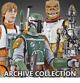 STAR WARS: THE BLACK SERIES ARCHIVE COLLECTION