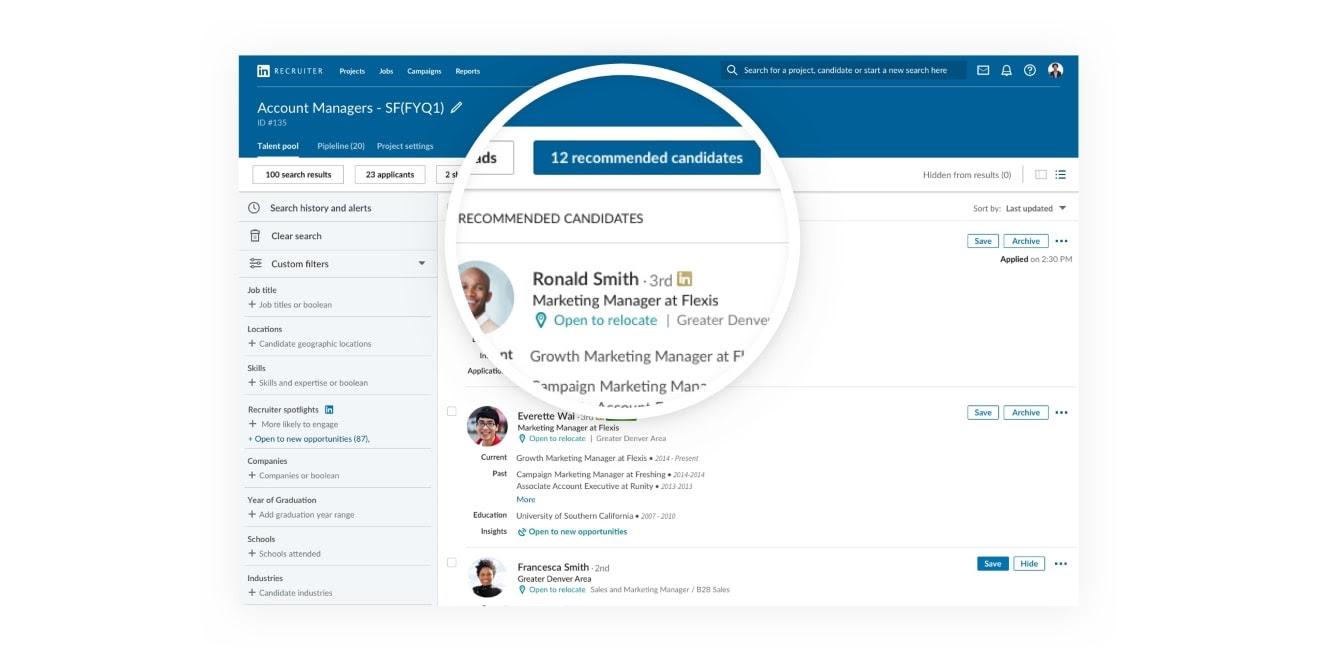 LinkedIn hiring