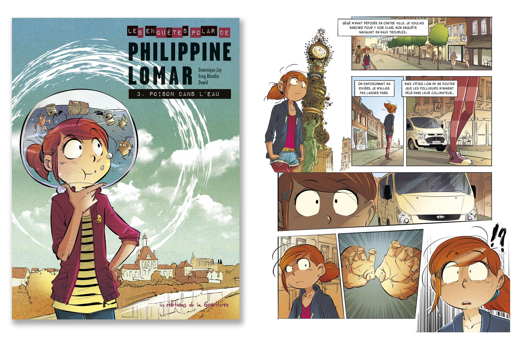 Extrait de Philippine Lomar tome 3 : Poison dans l'eau