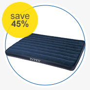 Intex 												Classic Downy  												Air Mattress