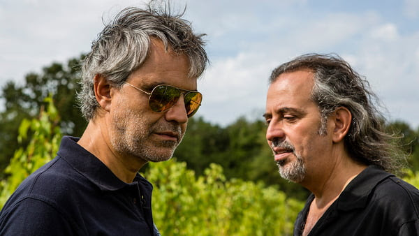 Andrea and his brother Alberto, producers of Sangiovese IGT Rosso Toscana 2017