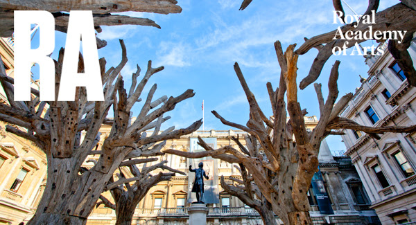 Ai Weiwei's Tree at the RA