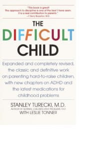 The Difficult Child by Stanley Turecki with Leslie Tonner
