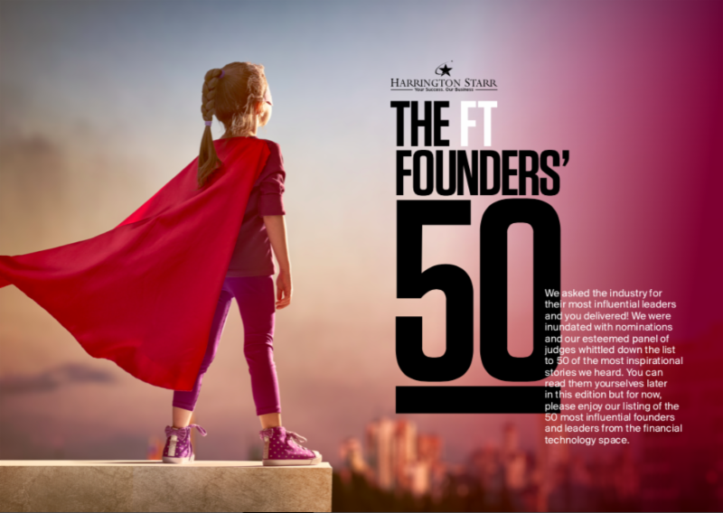 Financial Technologist Founders 50