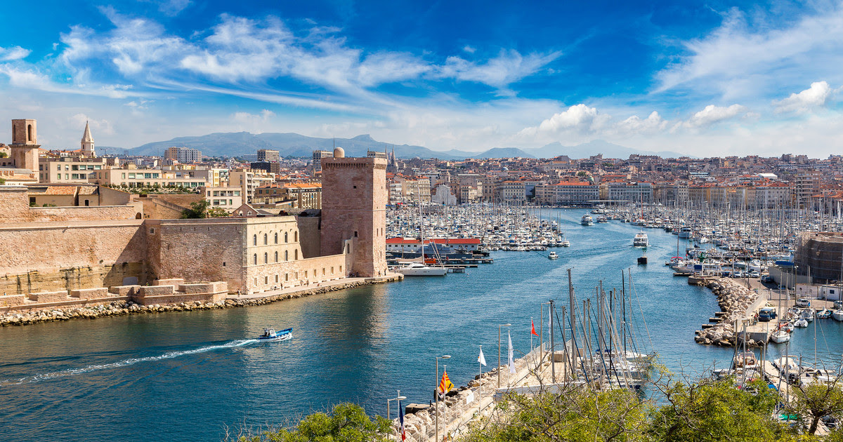 unforgettable holidays at Marseille, France