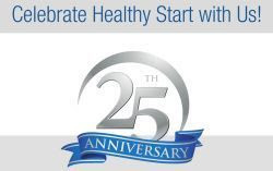 celebrate health start with us, 25th anniversary