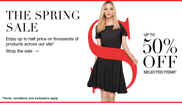 Save up to 50% OFF Selected Items + Free standard UK Shipping On Orders Over £50 at MarksandSpencer.com
