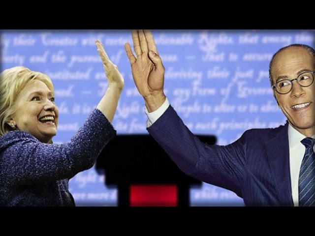 Hillary and Lester Holt rig the debate, Here's how they did it Sddefault