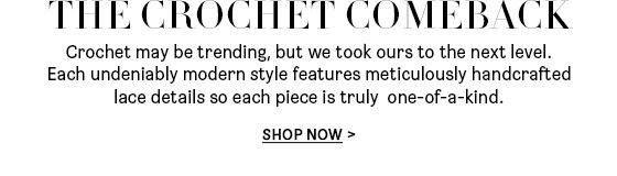 The Crochet Comeback