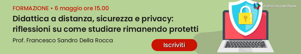 Didattica a distanza, sicurezza e privacy