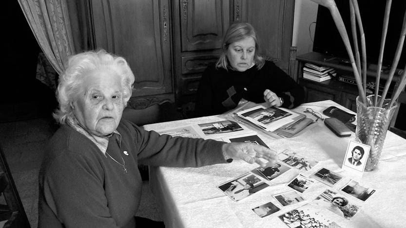María Bellizzi, de 91 años y madre de desaparecido. Foto: Patricia Alvares, Efe (archivo, agosto de 2015)