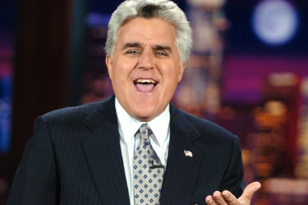 "Former host of ""The Tonight Show"" Jay Leno"