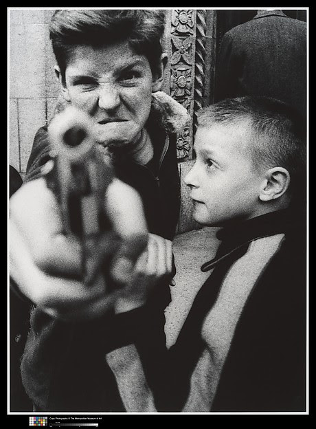 Klein - kid with gun - 1954