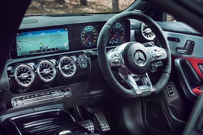 AMG CLA45 S interior