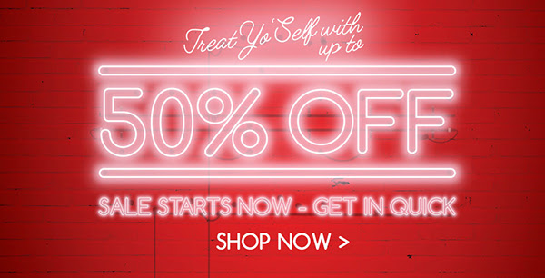 UP TO 50% OFF NEW SALE LINES a...