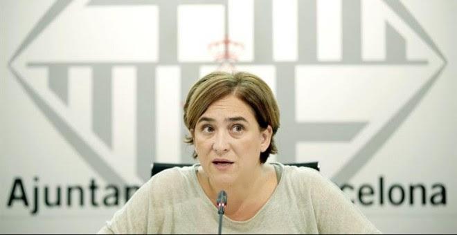 La alcaldesa de Barcelona, Ada Colau. - EFE