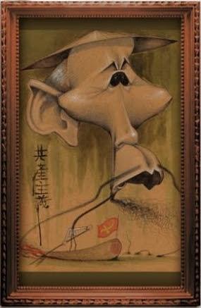 Ho Chi Minh by Mac Garcia. Giải ba.