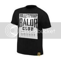 Finn Balor Bulletproof Balor Club Authentic T-Shirt