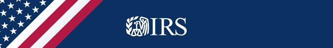 IRS.gov Banner