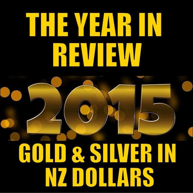 2015 Year in Review for Gold & Silver