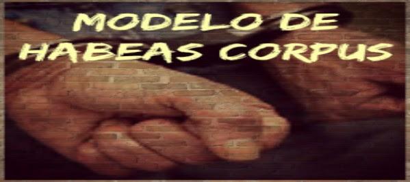 Modelo de Habeas Corpus - Prisão Temporária