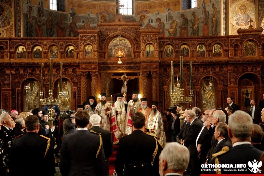 ΟΡΘΟΔΟΞΙΑ INFO Ι Δοξολογία για το νέο έτος από τον Αρχιεπίσκοπο