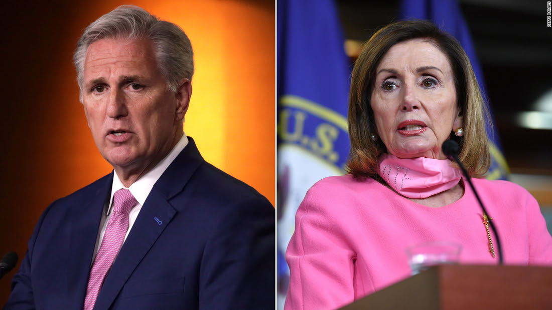McCarthy called out Pelosi over this Senate mandate, but she just fired back